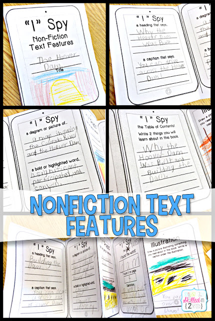 Nonfiction Text Features Mastered in 5 Easy Steps - Simply Skilled