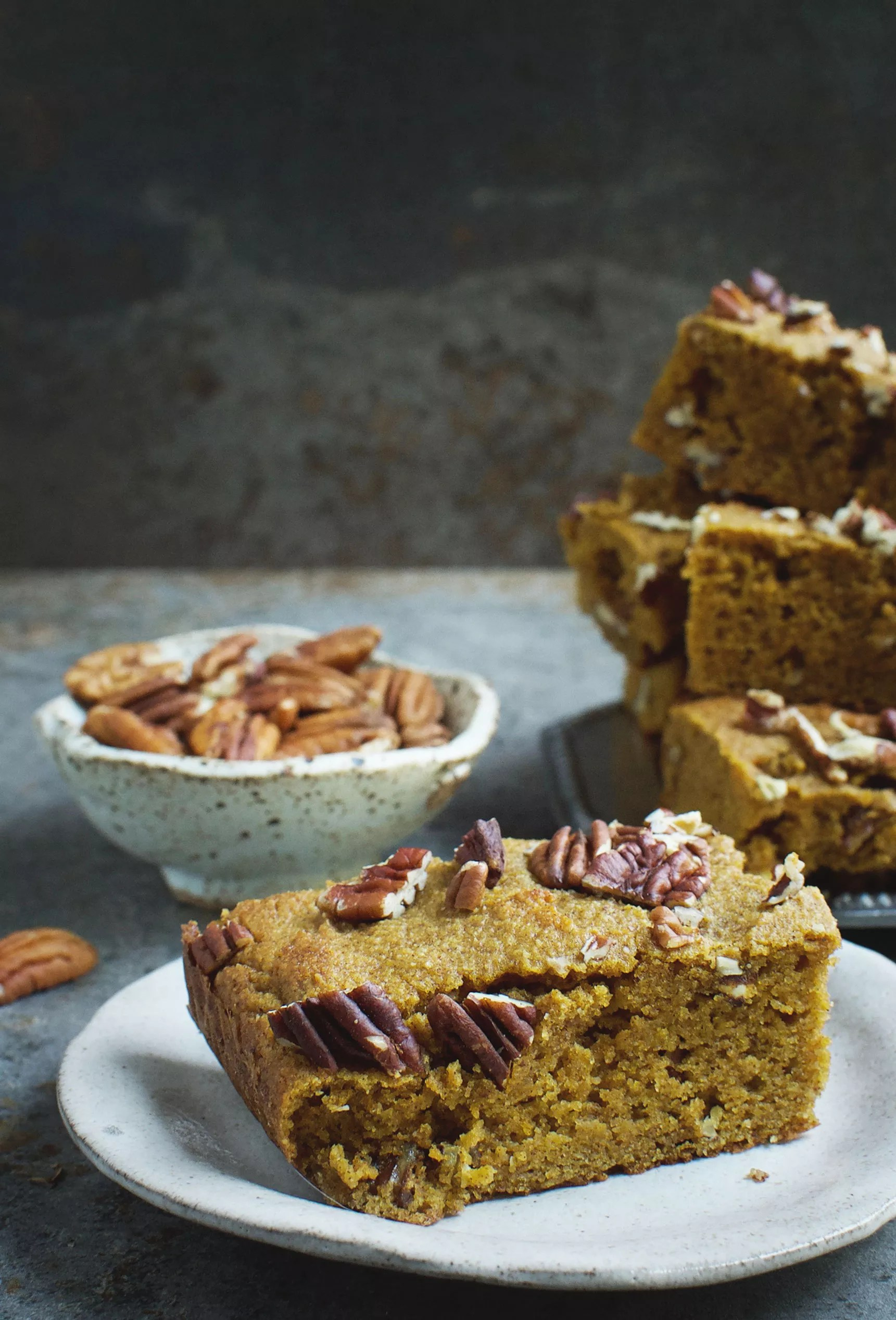 Low Carb Protein Kuchen Low Carb Pumpkin Pecan Bars Recipe Simply So Healthy