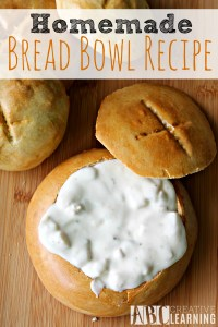 Homemade Bread Bowl Recipe for Fall Soups - Simply Today Life