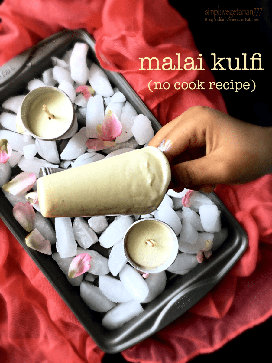 Malai Kulfi -No cook & 5 ingredients recipe