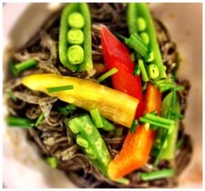 raw veggies