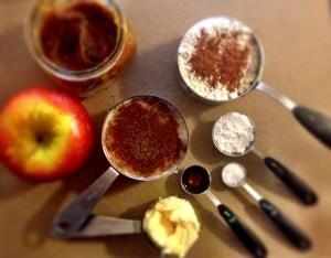 applemuffin ingredients