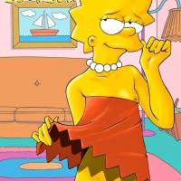 And now Lisa Simpson is shaving her pussy!