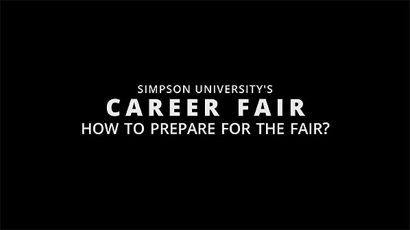 Career Fair SimpsonU