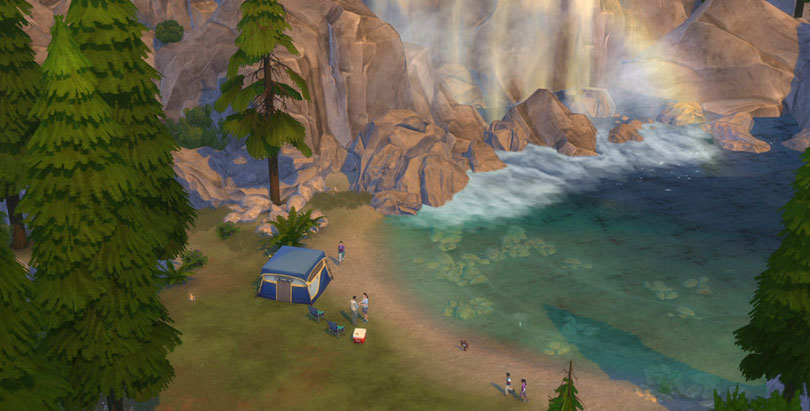 The Gravity Falls Wallpapers The Sims 4 Outdoor Retreat Game Pack Sims Online