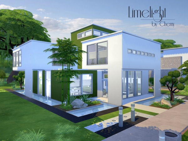 Pool Bauen Sims 4 The Sims Resource: Limelight Modern Residential Lot By