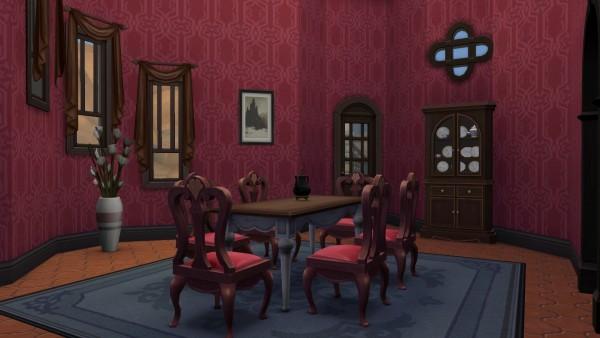 Nana Anime Wallpaper Mod The Sims Vampire Castle Summer Residence By Aya20