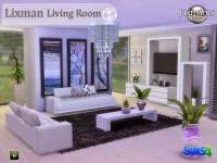 Jom Sims Creations: Lixman livingroom  Sims 4 Downloads