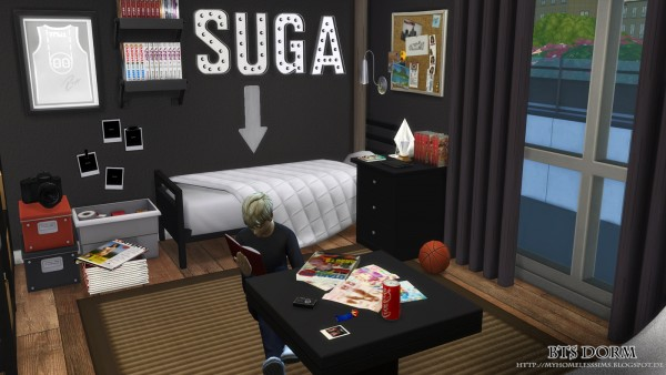 Cute Wallpaper For Walls Homeless Sims Bangtan Boys House Sims 4 Downloads