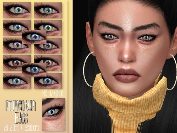 The Sims Resource Momentum Eyes N66 By Izziemcfire