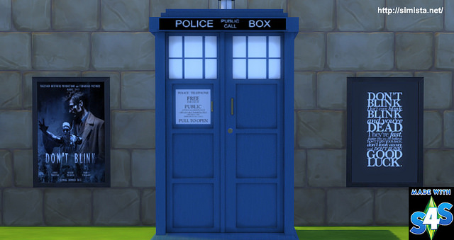 Decoration Clio 4 Simista A Little Sims 4 Blog ♥: Dr Who Tardis Wardrobe