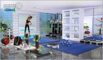 Sims Room Gym