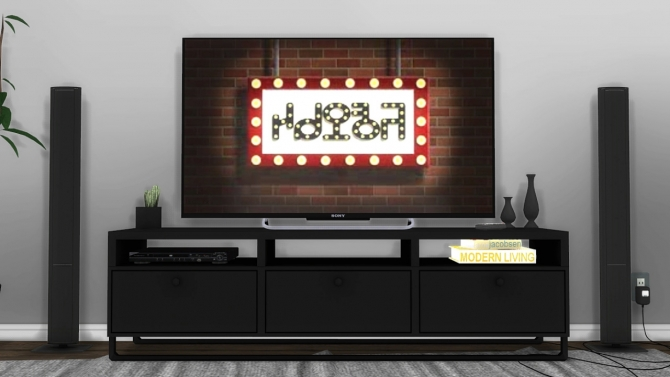 Sims 1 Collection Sony Kdl50w800b Led Tv Stand Version At Mxims » Sims 4 Updates