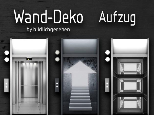 3d Door Wallpaper Elevator Wall Decor By Bildlichgesehen At Akisima 187 Sims 4