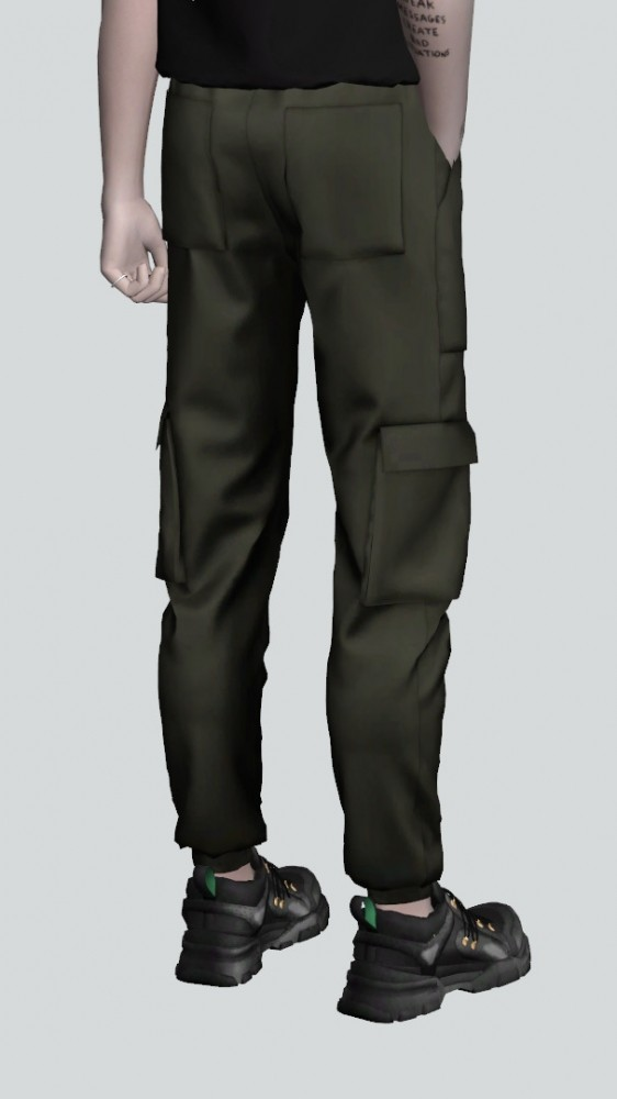 Layered Hair Female Cargo Pants At Rona Sims » Sims 4 Updates