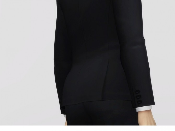 Bow Tie For M Suit Top At Rusty Nail Sims 4 Updates
