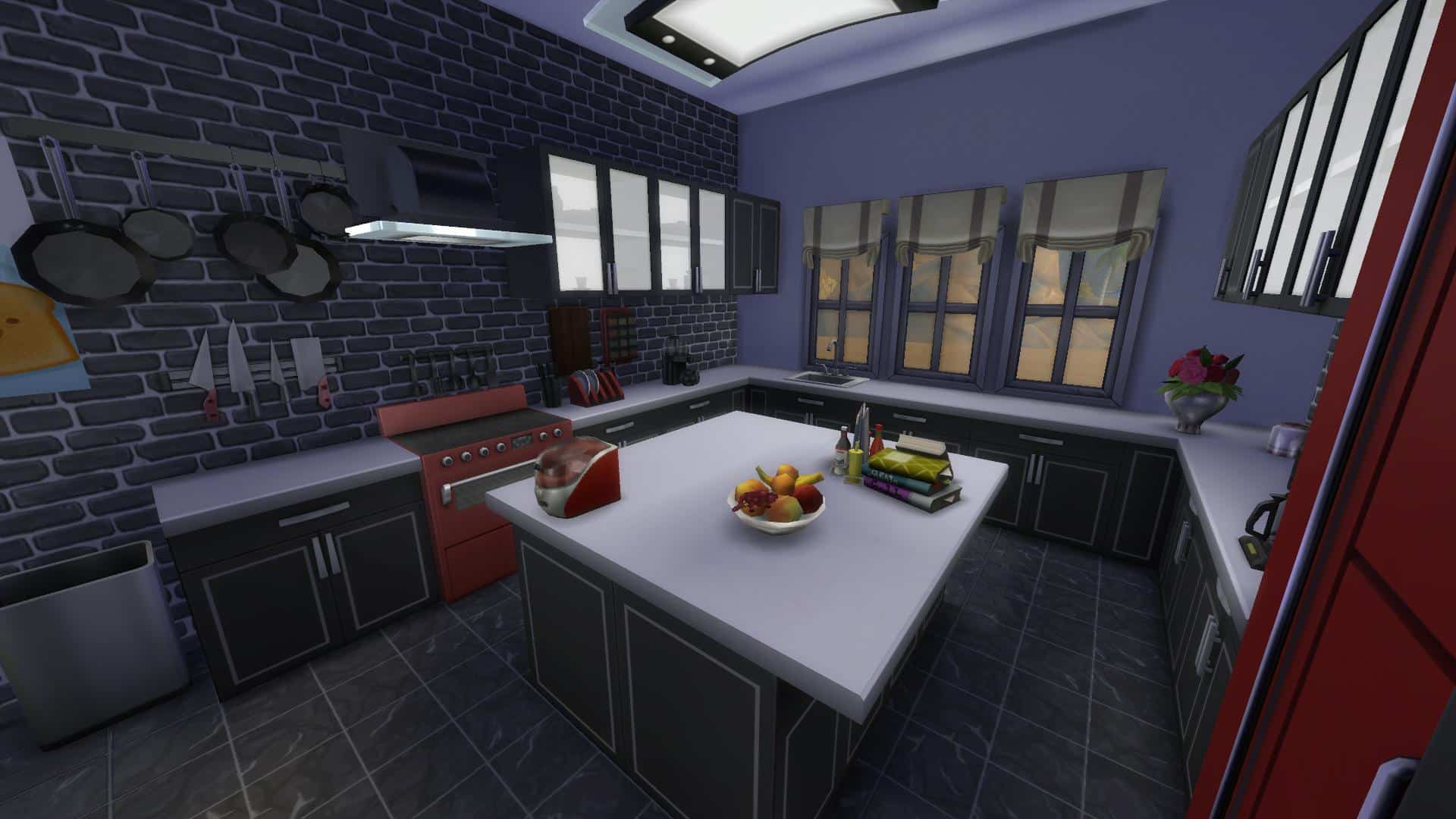 The Sims 4 Design Guide Modern Kitchen Cc