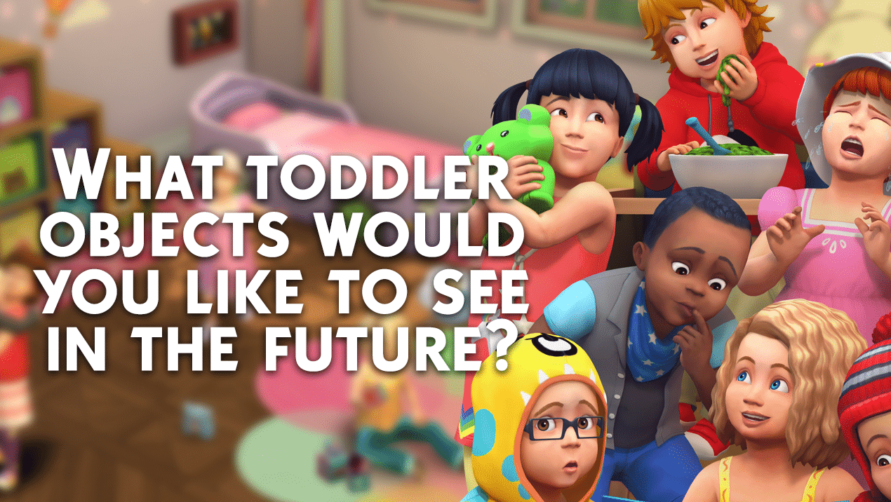 Sims 4 Toddler Stroller Mod Simgurus Want Your Opinion What Toddler Objects Would You