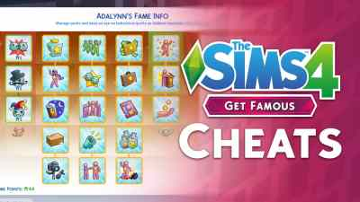 The Sims 4 Get Famous: Video Overview of the New Cheats