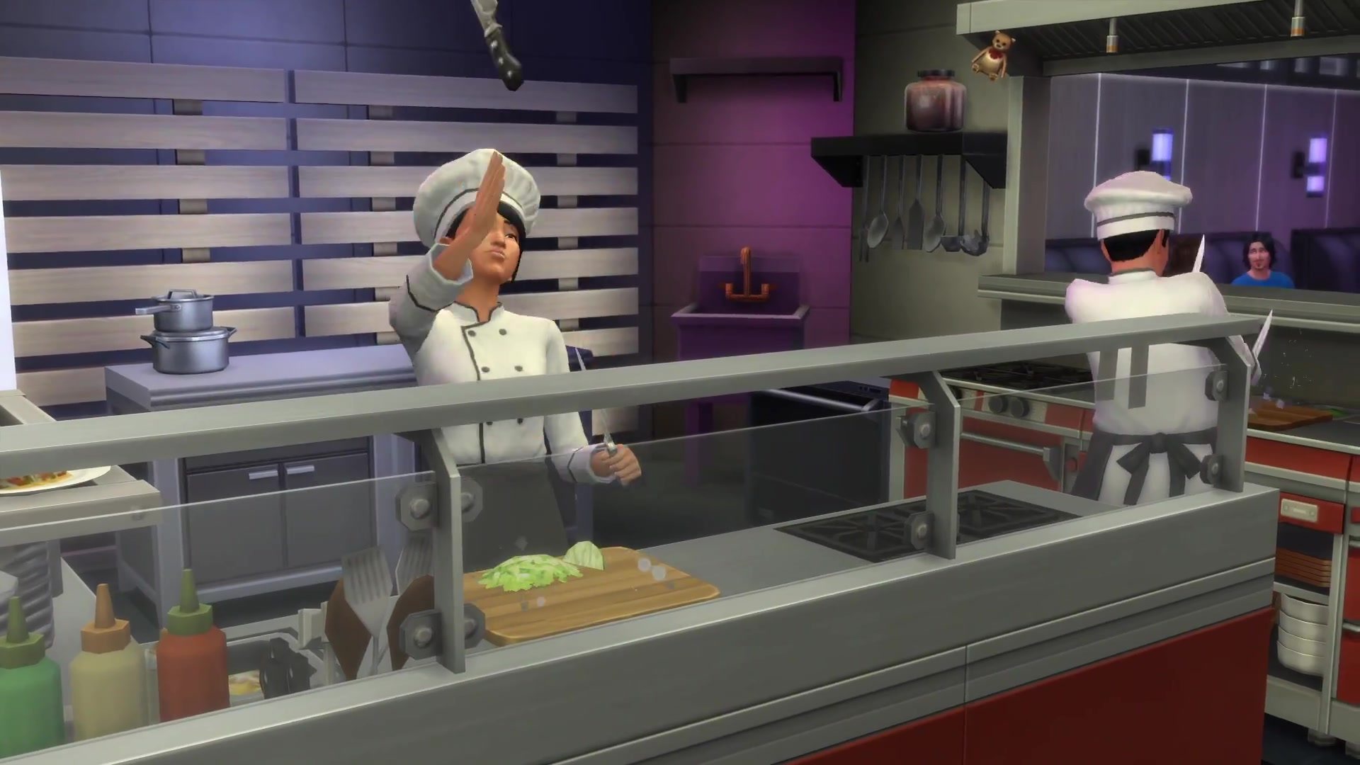 Cuisine Gameplay The Sims 4 Dine Out Official Gameplay Gifs Simsvip