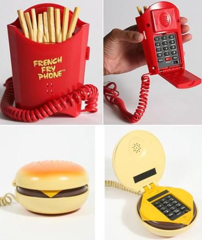 Fries Hamburger phones