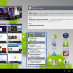 Menú del Android 3.1 Honeycomb