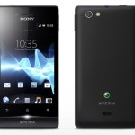 Vista frontal del Sony Xperia Miro
