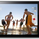 Sony Xperia Miro acostado