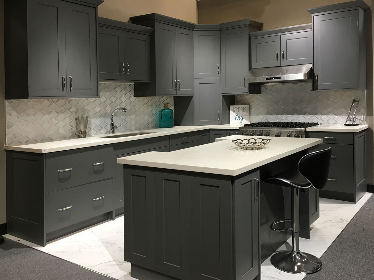 Matte Kitchen Cabinets Revolution American Matte Gray Cuppertino