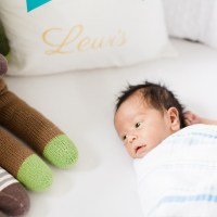 Our family of four + nursery reveal