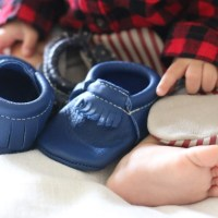 Baby's First Shoes + Freshly Picked Giveaway