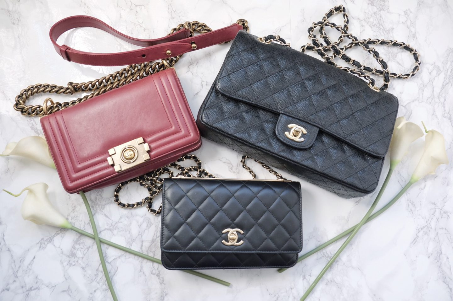 3b39e0fdccc Mini Vs Woc   Review Chanel Wallet On Chain Woc You Rock My Life