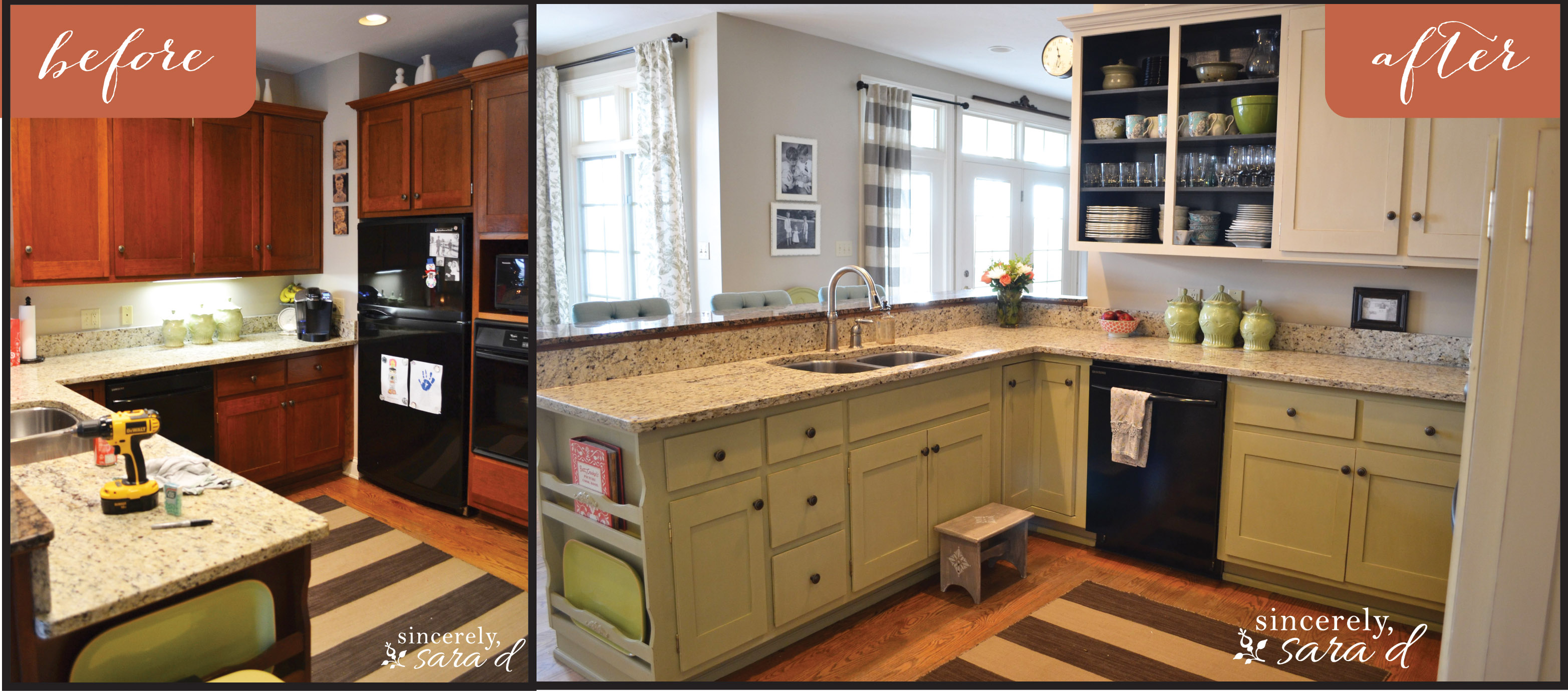 Chalk Paint Kitchen Cabinets Painting Kitchen Cabinets With Chalk Paint Update