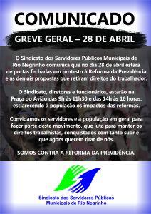 GREVE SINDICATO DIA 28
