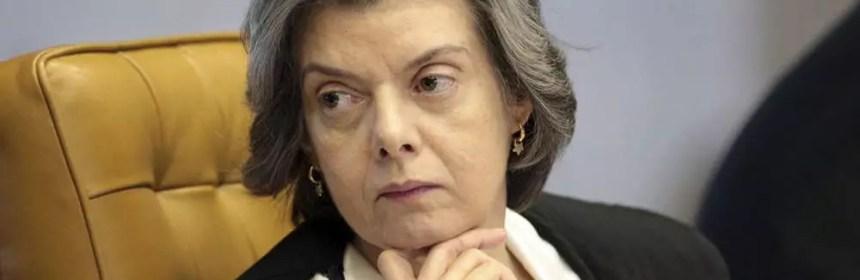 ministra Cármen Lúcia, presidente do STF (Supremo Tribunal Federal)