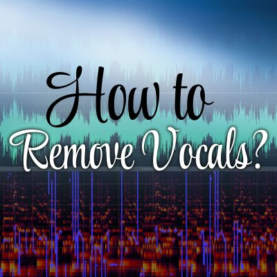 How to remove vocals from a song to upload it as background track to Smule - The Smule Sing! app ...