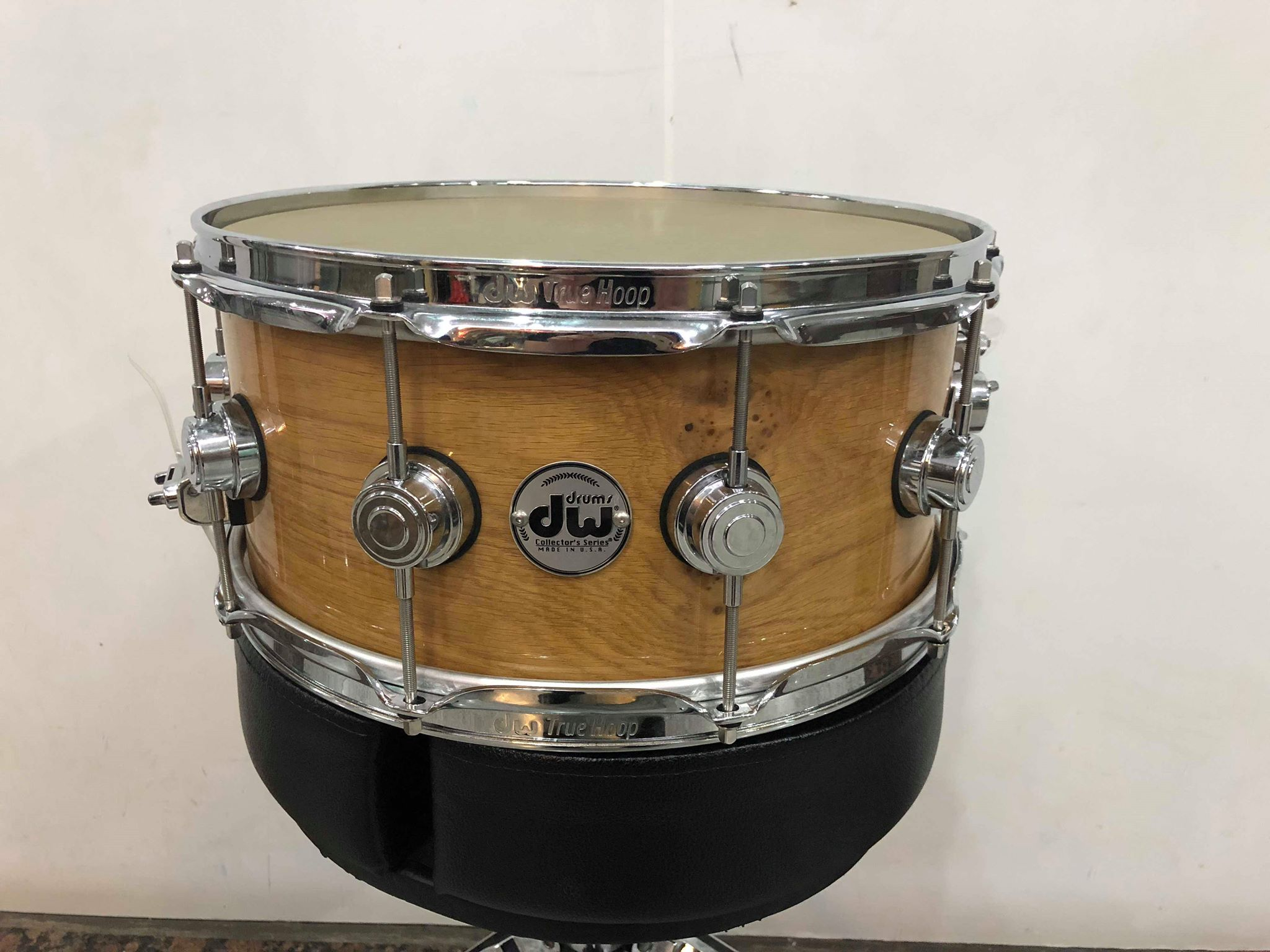 Dw Shop Dw Collectors Exotic Oak Cluster 14x6 5 Signed By John Good