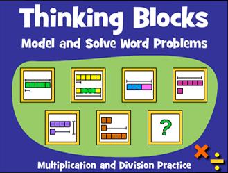 Thinking Blocks Multiplication & Division