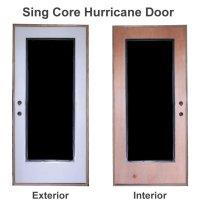 Hurricane Exterior Doors. hurricane proof double front ...