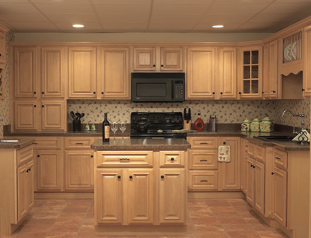 Maple Kitchen Cabinets With Gray Walls Lowes Maple Kitchen Cabinets - Non-warping Patented Wooden