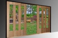 Sliding Patio Doors  Non-warping patented wooden pivot ...