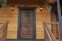 Unique Front Doors  Non-warping patented wooden pivot ...