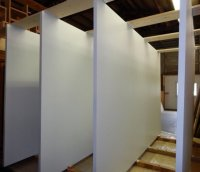 Pivoting Pocket Door  Non-warping patented wooden pivot ...