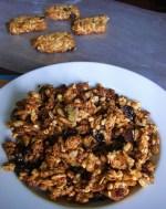 Peanut Butter Granola Bars and Bora Bora