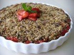 Raw Berry Cobbler with Walnut / Coconut Crumble