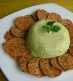 Parsley Cashew Cheeze Spread and Feeding 25 People
