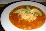 Seitan Corn Tortilla Soup