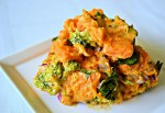 Sweet Potato and Broccoli Salad