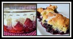 Strawberry-Rhubarb Cobbler & Double Berry Cobbler