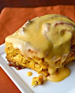 Revisiting Pumpkin Cinnamon Rolls w/ Pumpkin Cream Cheese Icing and Giveaway Winner